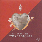 Kabaka Pyramid - Sticks & Stones / Version (Natural High Music) 7""